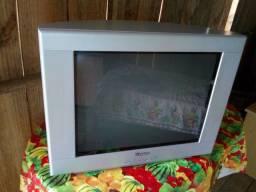 Vendo tv Philips tela plana 21 pol