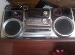 Aparelho de som antigo 4x1