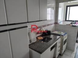 Apartamento para alugar com 1 dormitórios em Aviação, Praia grande cod:1217
