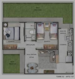 Apartamento no Morada do Ouro.
