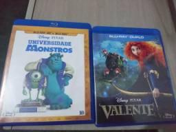 Blu-rays Disney Universidade Monstros e Valente