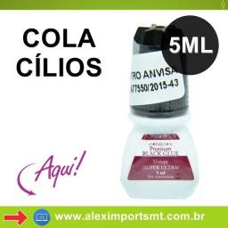 Cola Alongamento Cilios Black Glue Premium Super Ultra 5ml