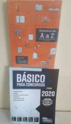 Combo Básico para Concursos 2020 + Gramática de A a Z, 100% atualizado (Ver descrição)