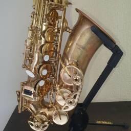Sax alto Vogga Desplacado com chaves douradas!