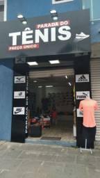 Vende se loja de tênis podendo continuar no ponto