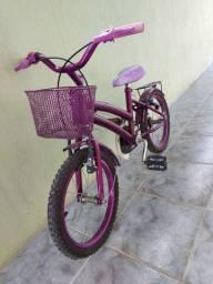 Bicicleta infantil com notar fiscal mas rodinha.
