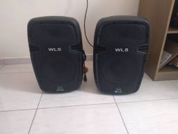 Caixas ativos WLS fone de 10