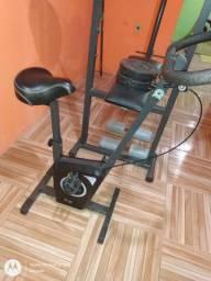 Bicicleta ergométrica nova pouco usada
