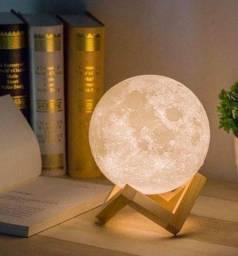 @ mandelladecorados Luminária Lua Cheia 3D Pronta Entrega Últimas Unidades