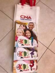 Livro Kids 1, 2 e 3 CNA