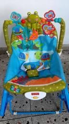 Cadeira de Balanço vibratória Fisher Price