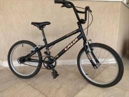 Bike Caloi Expert Preta - Aro 20 - Seminova