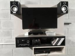 Xbox 360, TV 29 philco, som lenoxx e painel