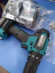 Parafusadeira/ Furadeira de Impacto a Bateria Lítio 12V Bivolt