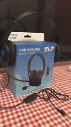 FOR P4/XBOX ONE Fone de ouvido com microfone