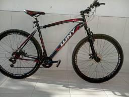 Bicicleta aro 29 Quadro de alumínio