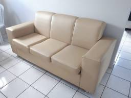 Sofá com tecido impermeável
