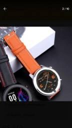 Smartchwatch dt78 com ip68 muito bonito primo do amasfit GTR kkkk