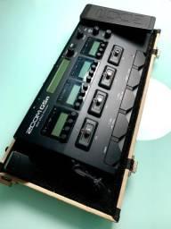 Pedaleira Zoom G5n com case e fonte original