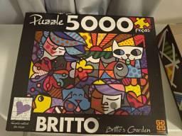 Quebra Cabeça Romero Britto 5000 peças