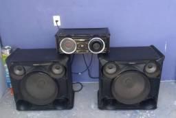 Mini System Samsung MX-FS8000 com MP3, Bluetooth..