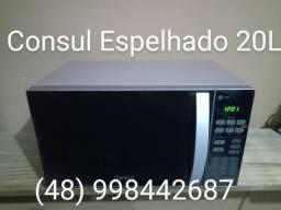 Microondas Consul Espelhado 20 L - NORTE DA ILHA - VARGEM GRANDE
