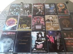 Coleção Dvds, show de bandas,  filmes,  series,  desenhos...