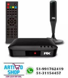 Kit Conversor Sinal Digital Hdtv + Antena Digital Interna