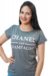 T shirts feminina adulta com estampa