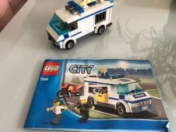 Lego 7286 - carro de polícia com manual