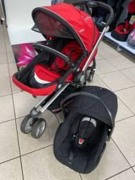 Carrinho e Bebê Conforto usado