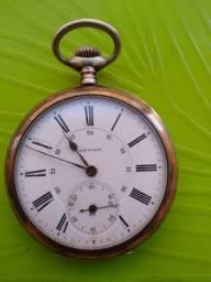 Relógio De Bolso 08 Invar Medalhas Bruxelas 1906