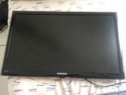 Tv Samsung 27 polegadas display queimado
