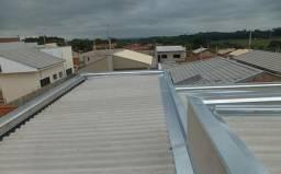 Tudo para telhados em reparo calhas e rufos