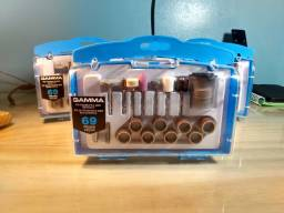 Kit 69 Acessórios para Micro Retífica - Gamma [Produto Novo/Embalagem Lacrada]