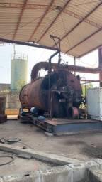 Instalação de secadora de óleo naval