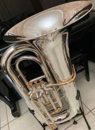 Tuba Weril J981 Prata/ Rose
