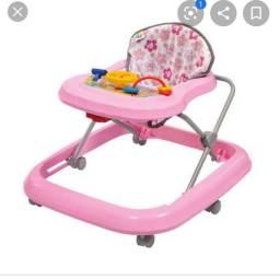 Andando de bebê Rosa