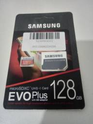 Cartão SD Samsung original, 128gb, Novo