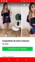 Kimono e short