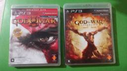 Jogos PS3 / 1 god of war ,1infamous ,2 batman akhal city ,2
