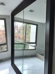 Espelho com moldura 2,50 x 2,20