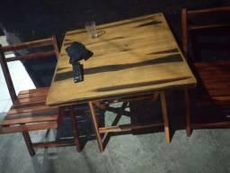 Mesa Madeira bar 200 cada