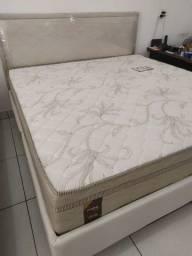 Promoçao Cama Box + Colchao brutus queen size 158x198 : 1599,99
