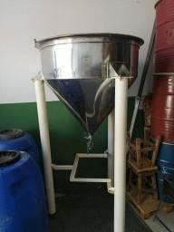 Tanque Silo inox 400 litros