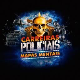 Mapas mentais concurso CARREIRAS POLICIAIS
