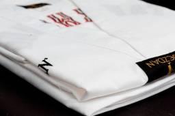 Dobok Bordado Canelado Uniforme Adulto Taekwondo Dezdan