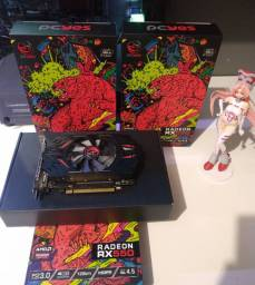 Placa De Video Radeon Pcyes Rx 550 4gb Gddr5 Graffiti