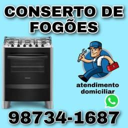 Conserto de fogão e instalação de gás 24h