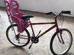 Bicicleta Aro 26 , vermelha - Wendy